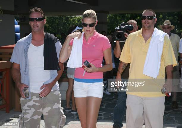 Chris Federline Victoria Prince and Kevin Federline attend the 2nd Annual Ryan Sheckler X Games Celebrity Skins Classic at Coto de Caza Golf and...