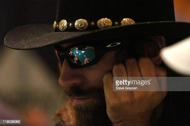 Chris Ferguson takes part in day one of the World Poker Tour's Doyle Brunson North American Poker Championship at the Bellagio Hotel in Las Vegas...