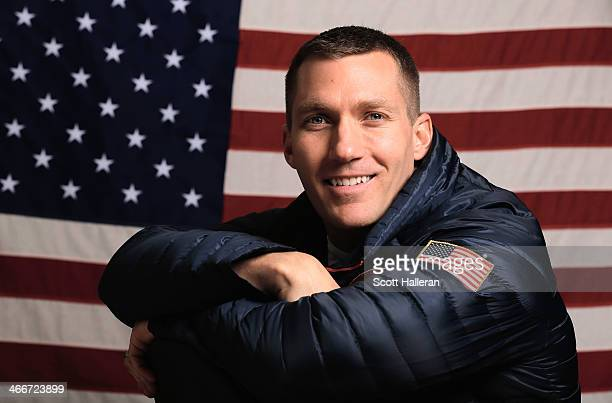 Chris Fogt of the United States Bobsled team poses for a portrait ahead of the Sochi 2014 Winter Olympics on February 3 2014 in Sochi Russia
