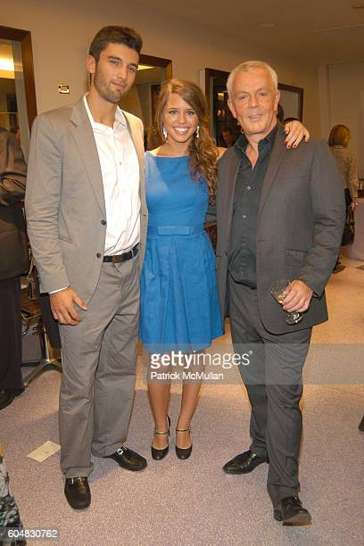 Chris Ford Alessandra Balazs and John Barrett attend LIFE STYLE FASHION WEEK PARTY hosted by John Barrett and Patrick McMullan at Bergdorf Goodman...