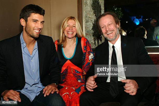 Chris Ford and Alice Judelson Patrick McMullan attend DOUGLAS HANNANT After Party/Dinner at Pink Elephant on September 13 2006 in New York City