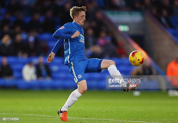 Chris Forrester of Peterborough United during the Sky Bet League One match between Peterborough United and Shrewsbury Town at London Road Stadium on...