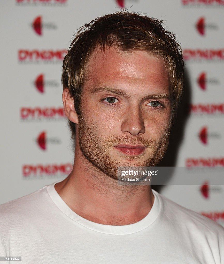 Chris Fountain attends Dynamo's secret London gig on July 9, 2013 in London, England.