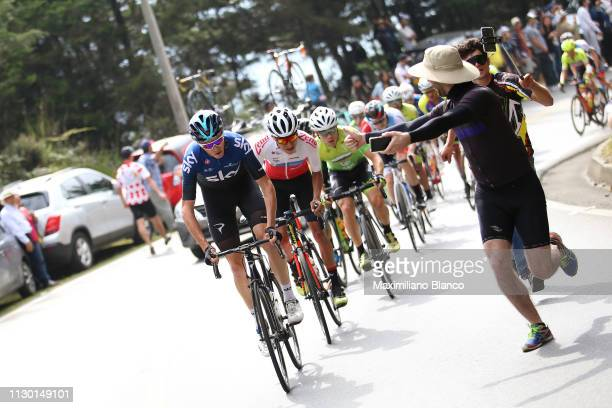 Chris Froome of Great Britain and Team Sky / during the 2nd Tour of Colombia 2019 Stage 5 a 1772km stage from La Unión to La Unión / @TourColombiaUCI...