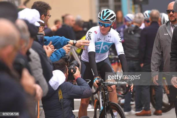 Chris Froome of Great Britain during the 53rd TirrenoAdriatico 2018 / Stage 2 a 172km stage from Camaiore to Follonica on March 8 2018 in Follonica...