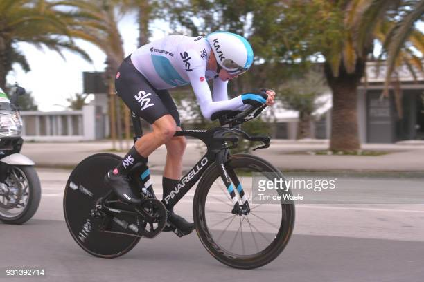 Chris Froome of Great Britain during the 53rd TirrenoAdriatico 2018 Stage 7 a 105km Individual Time Trial stage in San Benedetto Del Tronto on March...