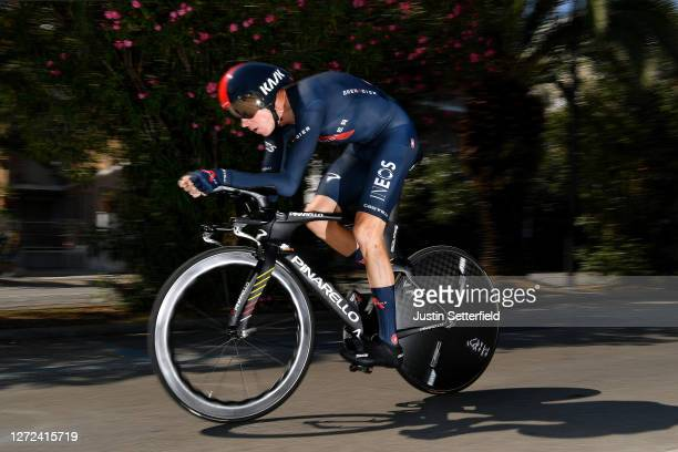 Chris Froome of The United Kingdom and Team INEOS Grenadiers / during the 55th Tirreno-Adriatico 2020 - Stage 8 a 10,1km Individual Time Trial in San...