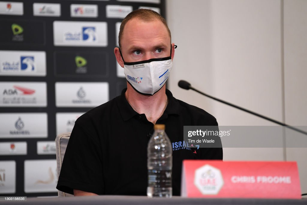 3rd UAE Tour 2021 - Top Riders Press Conference : ニュース写真