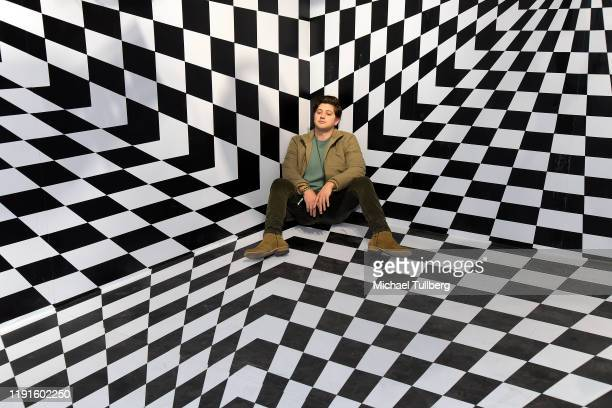 Chris Galya attends the VIP opening night for the Dumpling Associates popup art exhibition at ROW DTLA on December 02 2019 in Los Angeles California