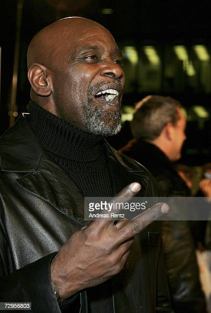 Chris Gardner attends The Pursuit of Happyness German Premiere on January 9 2007 in Berlin Germany The movie is based on the life of Gardner