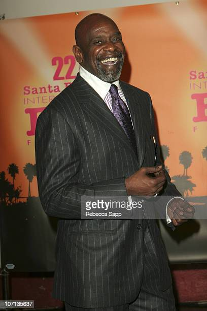 Chris Gardner during 22nd Annual Santa Barbara International Film Festival Will Smith Honored With The Modern Master Award Arrivals at The Arlington...