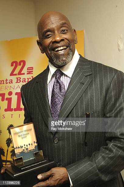 Chris Gardner during 22nd Annual Santa Barbara International Film Festival Will Smith Honored with 2007 Modern Masters Award at Arlington Theatre in...