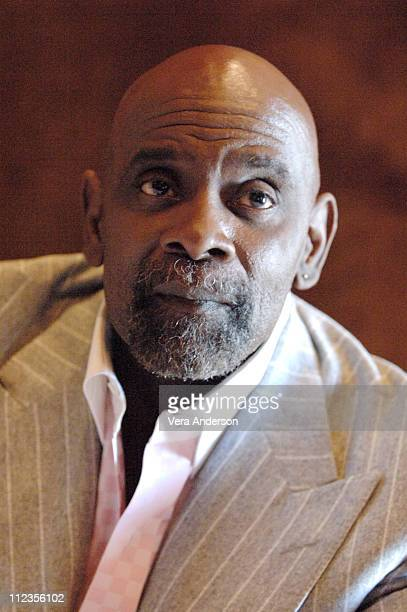 Chris Gardner during 'The Pursuit of Happyness' Press Conference with Thandie Newton Gabriele Muccino and Chris Gardner at Waldorf Astoria in New...