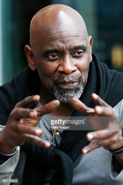 Chris Gardner is interview for the Rapport Newspaper at the Westin Grand about how Nelson Mandela inspired him to get involved in South Africa...