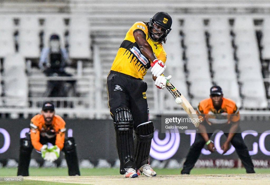 2018 Mzansi Super League: Jozi Stars v Nelson Mandela Bay Giants : News Photo