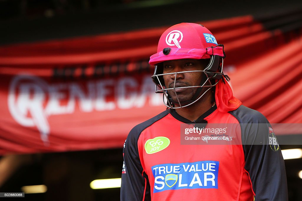 Big Bash League - Melbourne Renegades v Perth Scorchers