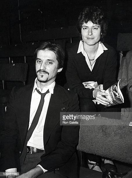 Chris Gero and Ingrid Rossellini during Extremeties Performance December 10 1982 at 43rd St West Side Art Theater in New York City New York United...
