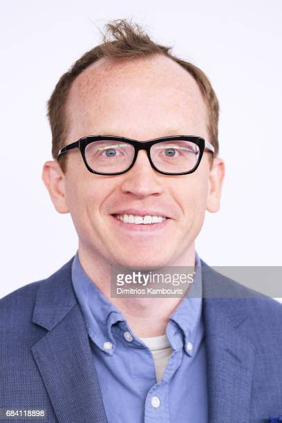 Chris Gethard attends the Turner Upfront 2017 arrivals on the red carpet at The Theater at Madison Square Garden on May 17 2017 in New York City...