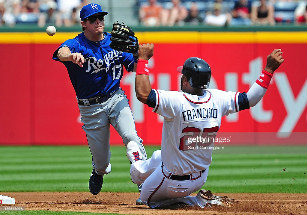 Kansas City Royals v Atlanta Braves
