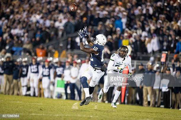 Chris Godwin of the Penn State Nittany Lions makes a touchdown reception during the second half against the Michigan State Spartans on November 26...