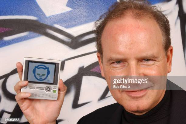 Chris Gorog CEO Napster during Chris Gorog at Napster Photo Session December 10 2004 at Napster Offices in West Hollywood California United States