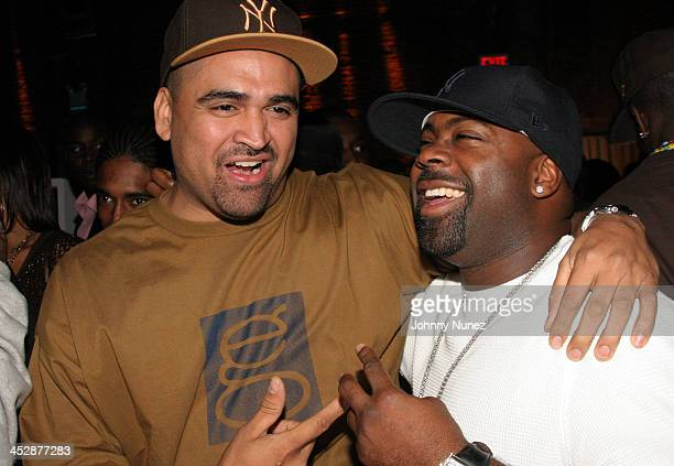 Chris Gotti and Breyon Prescott during Foxy Brown's Birthday Party September 25 2005 at Ruby Falls in New York New York United States