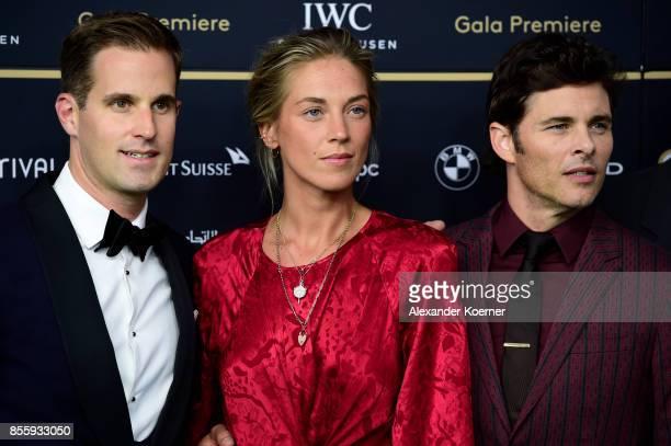 Chris GraingerHerr Emma Deigman and James Marsden attend the 'Shock and Awe' premiere at the 13th Zurich Film Festival on September 30 2017 in Zurich...