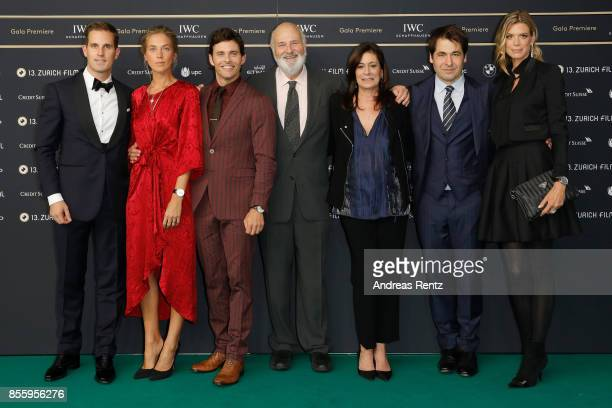 IWC CEO Chris GraingerHerr Emma Deigman James Marsden Rob Reiner Michele Reiner Festival Directors Karl Spoerri and Nadja Schildknecht attend the...