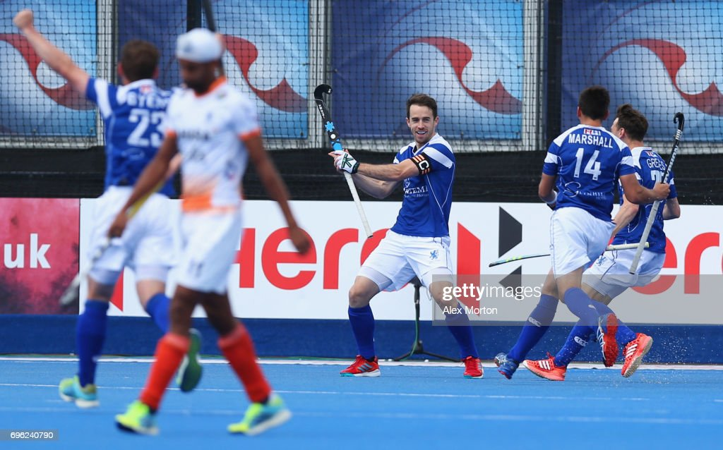 Hero Hockey World League Semi-Final - Day One : News Photo