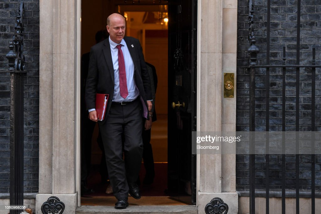 U.K. Cabinet Meeting As Brexit Negotiations Enter The Endgame : News Photo