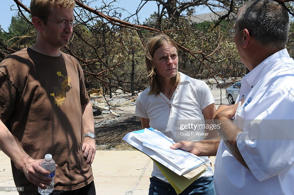 Chris Grove and her husband Michael Fender meet with Insurance ...
