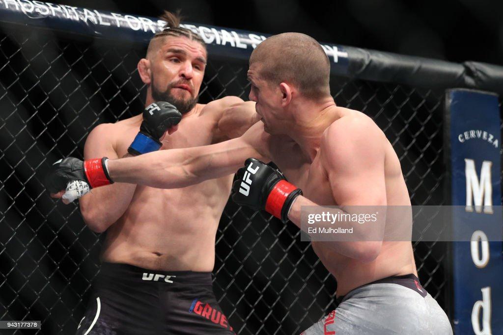 UFC 223: Lauzon v Gruetzemacher : News Photo