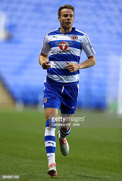 Chris Gunter of Reading during the PreSeason Friendly match between Reading and AFC Bournemouth at Madejski Stadium on July 29 2016 in Reading England