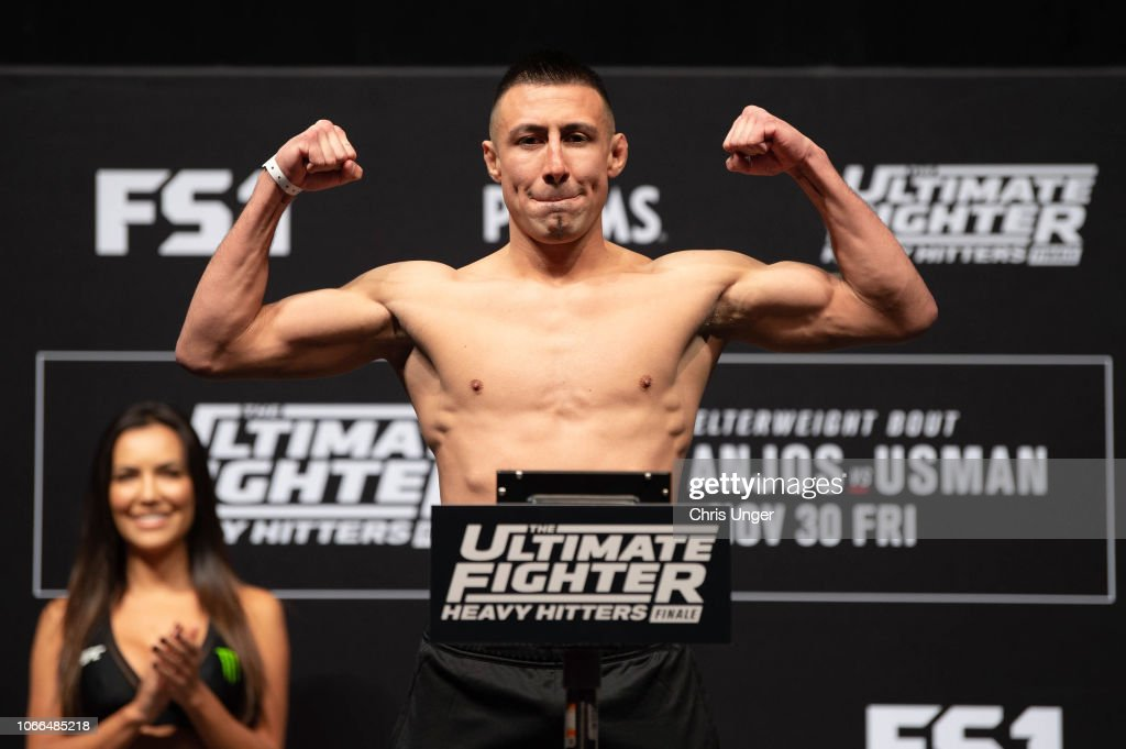 The Ultimate Fighter Finale: Weigh-Ins : Nieuwsfoto's