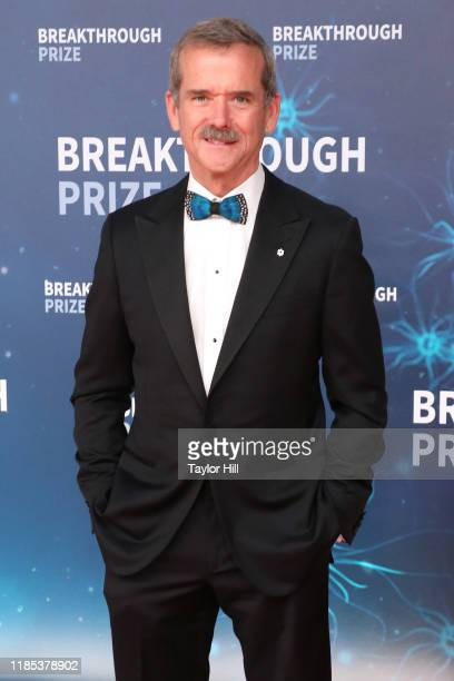 Chris Hadfield attends the 2020 Breakthrough Prize Ceremony at NASA Ames Research Center on November 03 2019 in Mountain View California