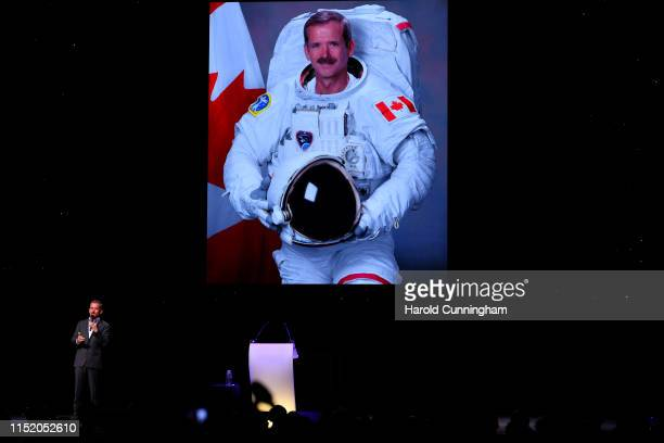 Chris Hadfield attends the Starmus V A Giant Leap sponsored by Kaspersky at Samsung Hall on June 25 2019 in Zurich Switzerland