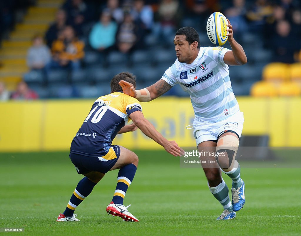 Worcester Warriors v London Irish - Aviva Premiership : News Photo