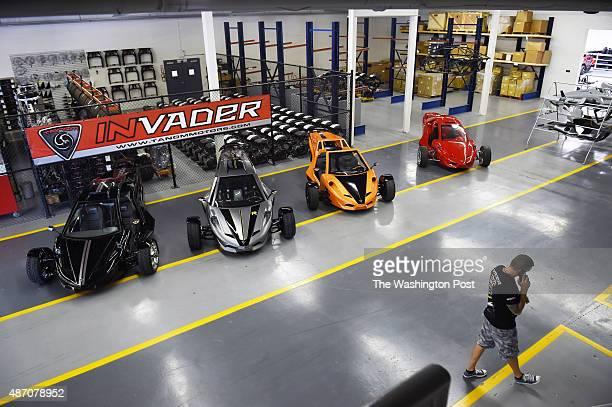 Chris Hall is seen at Tanom Motors on Monday August 17 2015 in Culpeper VA Tanom