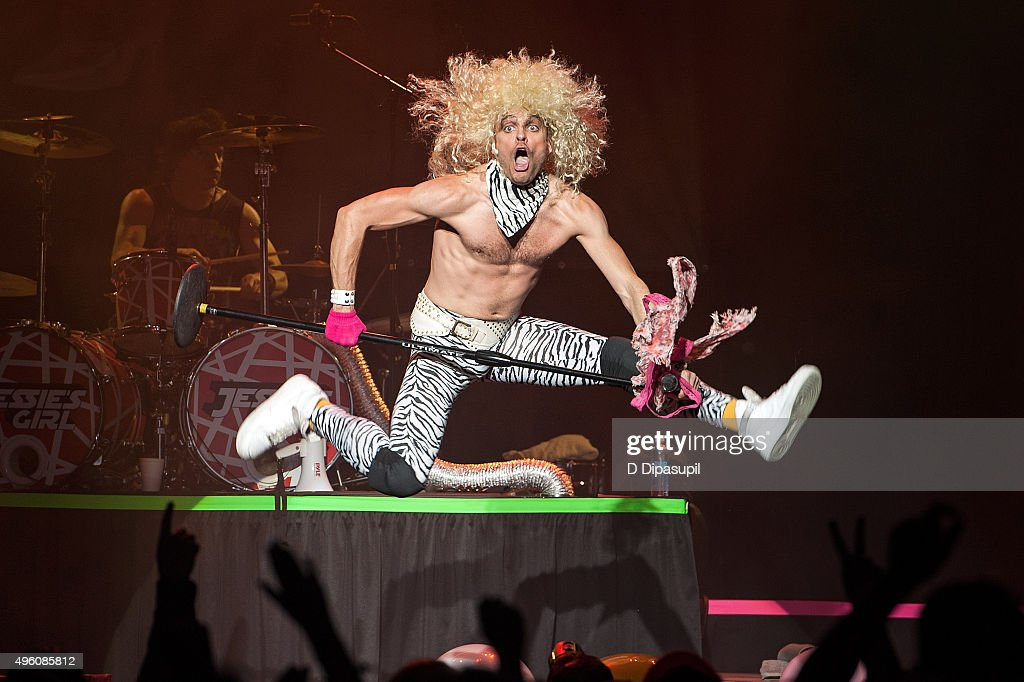 Chris Hall of Jessie's Girl performs onstage during the 'I Want My 80's' concert at The Theater at Madison Square Garden on November 6, 2015 in New York City.