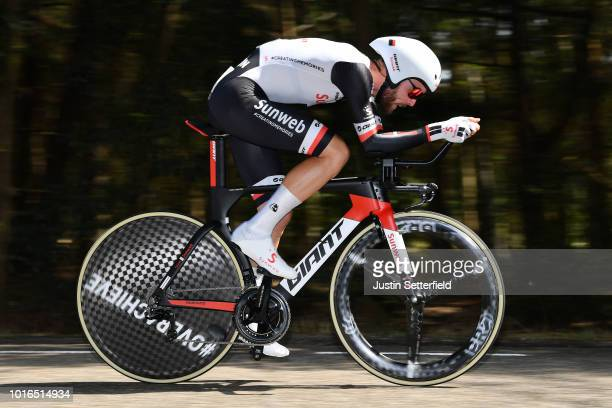 Chris Hamilton of Australia and Team Sunweb / during the 14th BinckBank Tour 2018, Stage 2 a 12,7km Individual Time Trial stage from Venray to Venray...