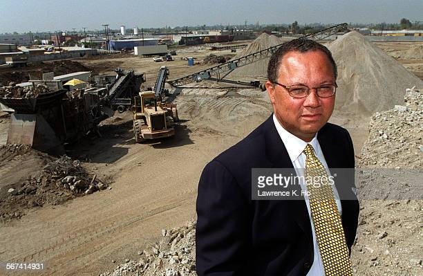 Chris Hammond,CEO of Capital Vision Equities at the site of Chesterfield Square, a construction project CVE is developing where a large retail center...