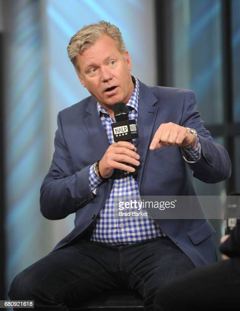 Chris Hansen attends Build Presents Chris Hansen discussing 'Crime Watch Daily' at Build Studio on May 9 2017 in New York City