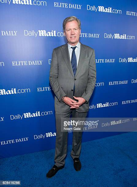 Chris Hansen attends the DailyMailcom and Elite Daily holiday party at Vandal on December 7 2016 in New York City