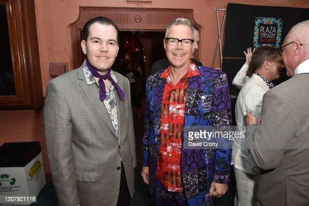 Chris Hanson and Charles Phoenix attend the House Of Cardin Special Screening At Palm Springs Modernism Week at The Plaza Theater on February 21 2020...