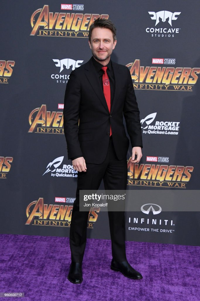Chris Hardwick attends the premiere of Disney and Marvel's 'Avengers: Infinity War' on April 23, 2018 in Los Angeles, California.