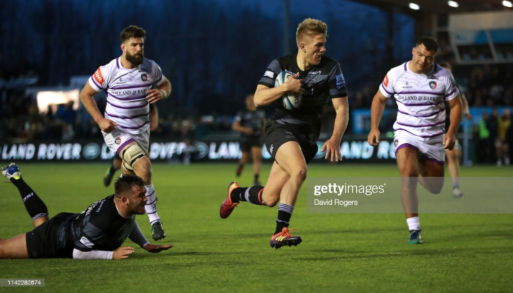 Newcastle Falcons v Leicester Tigers - Gallagher Premiership Rugby : News Photo