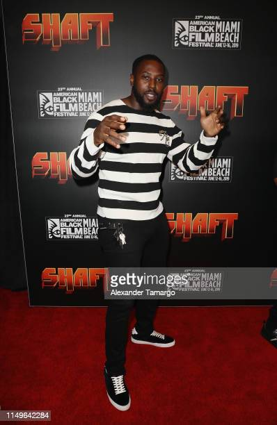 "Chris Harris of the Miami Dolphins attends the ""Shaft"" Opening Night Premiere of The American Black Film Festival on June 12, 2019 in Miami, Florida."