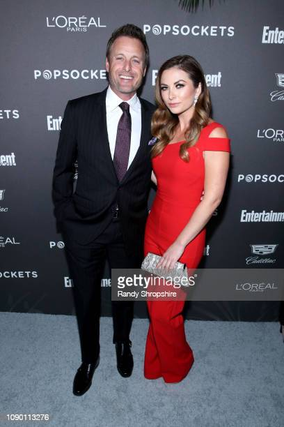 Chris Harrison and guest attend Entertainment Weekly Celebrates Screen Actors Guild Award Nominees sponsored by L'Oreal Paris Cadillac And PopSockets...