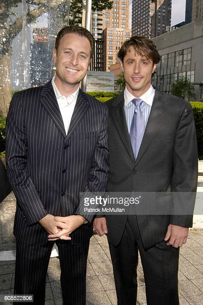 Chris Harrison and Lorenzo Borghese attend ABC Television Network Upfront Arrivals at Lincoln Center on May 16, 2006 in New York City.