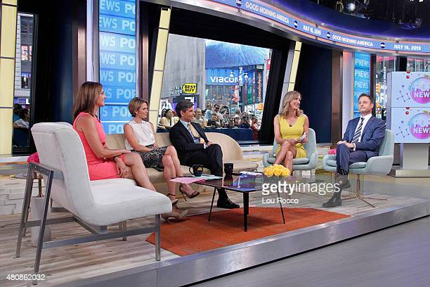 AMERICA Chris Harrison is a guest on Good Morning America 7/15/15 airing on the Walt Disney Television via Getty Images Television Network